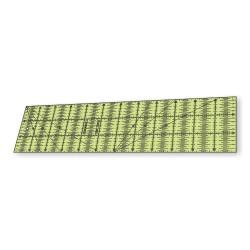 RÉGUA PARA PATCHWORK 15 x 60 CM - COM 0,25 CM - 26381
