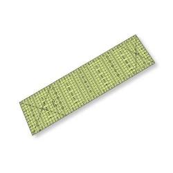 """Régua para Patchwork - 6,5"""" x 24"""" polegadas com fração - 26318"""