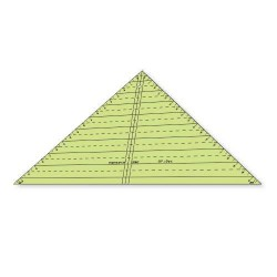 "Régua Para Patchwork Triângulo 90 graus x 9"" polegadas - 26382"