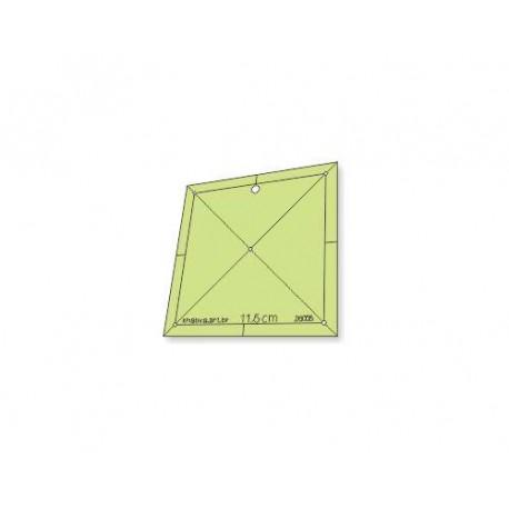 Gabarito Quadrado 11,5 cm - 26005