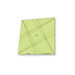 "Régua Para Patchwork - X-Block 6,5"" pol - 26371"