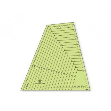 Gabarito para Patchwork Tumbler Multi 6 a 24 cm - 26448