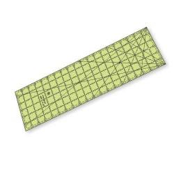 """Régua para Patchwork - 6"""" x 20"""" polegadas - Ângulo no Canto - 26453"""