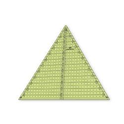 "Régua para Patchwork - Triângulo 60 graus x 12,5"" polegadas - 26213"
